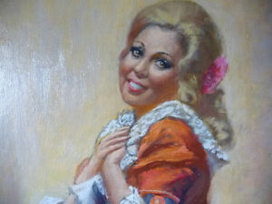 Opera, 'The Barber of Seville' Original Oil by Geoffrey Traunter Stratford Kitchener Area image 3