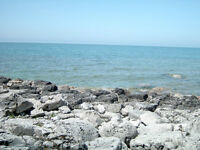 Lake Front lot for sale on Lake Huron