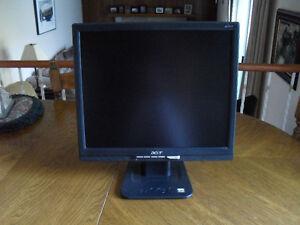 "Acer AL1717 17"" Colour Monitor with DVI-D Port"