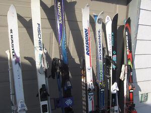 skis alpin