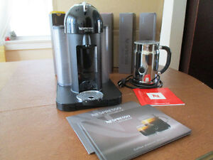 Nespresso Virtuoline with Aeroccino Plus Milk Frother