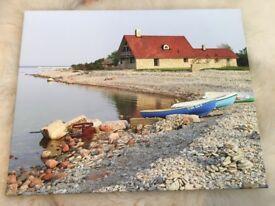 Estonia canvas photoprint picture frame