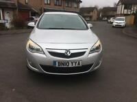 2010 Vauxhall Astra 1.7CDTi 16v ( 110ps ) DIESEL Exclusiv 12 MOT 2 Owners
