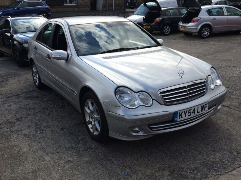 2005 mercedes c220 cdi auto classic taxed and tested bargain in dewsbury west. Black Bedroom Furniture Sets. Home Design Ideas