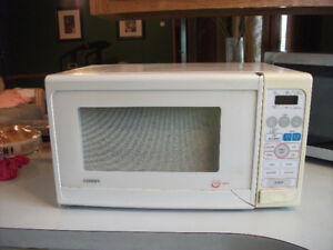 White microwave