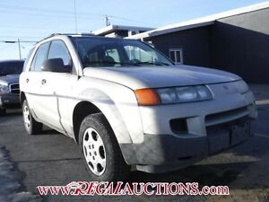2002 SATURN VUE  4D UTILITY FWD 4CYL