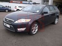 2010 Ford Mondeo Titanium Estate Auto 2.0 DAMAGED REPAIRABLE SALVAGE