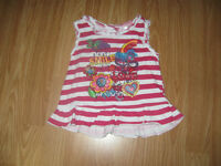 Nanette girl size 4 summer top