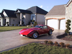 1973 Corvette ( Coupe / Auto )     OWNED 25 YEARS   63,000 miles