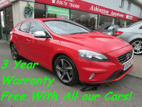 2013 VOLVO V40 D2 R DESIGN..................... 3 YEAR WARRANTY FREE OF CHARGE
