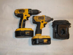 Dewalt 18v  drill and impact combo