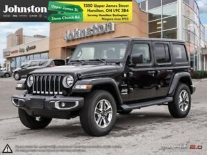 2018 Jeep Wrangler Unlimited Sahara 4x4  - Navigation - $189.39