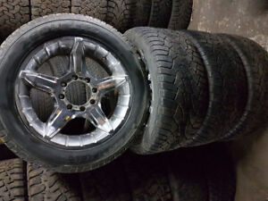 Chrome Truck Rims And Cooper Tires