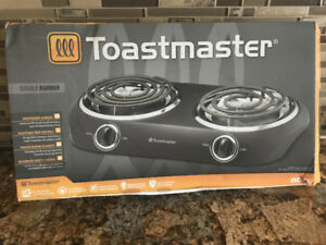 Toast master electric stove