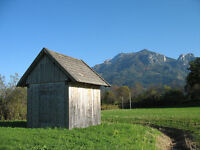 Looking for any unwanted small  farm buildings