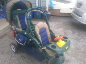 Jeep double stroller