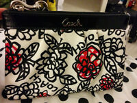 COACH Limited Edition Poppy Wristlet