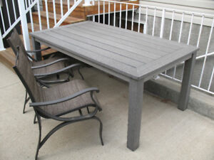 Reduced Heavy Duty outdoor table