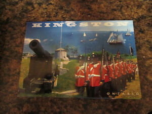 Set of 36 - Kingston, Ontario Postcards (Various Designs)