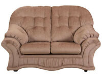 Hartlebury Fabric Regular Sofa - Beige