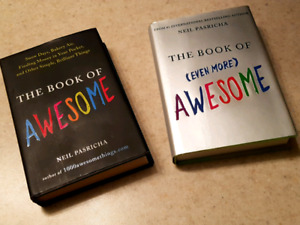 AUTOGRAPHED! The Book of AWESOME - 2 Books
