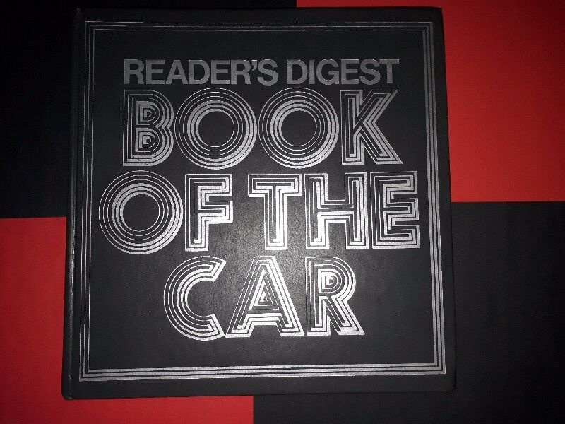 Book Of The Car - Reader's Digest - M. A. I. Jacobson.