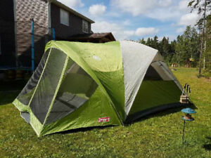 Coleman  Evanston 8 person tent with front screen room