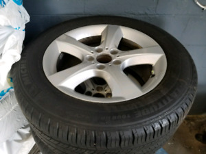 BMW X5 18 inch wheels and Tires 255/55/18