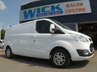 2014 Ford TRANSIT CUSTOM 290 LIMITED L2 LWB 125ps Van *LOW MILES* Manual Medium