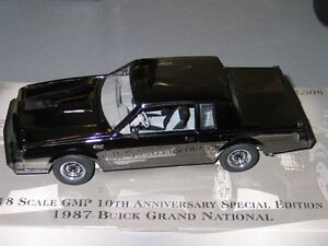 Diecast 1987 Grand National 1/18th scale Kawartha Lakes Peterborough Area image 1