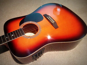 NEW Acoustic Electric guitar  - $165