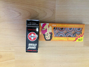 NEW BEARINGS, SPEED CREAM AND IN ONE SKATEBOARD TOOL
