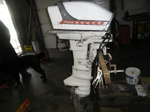 1961 FLYING SCOTT 75 HP OUTBOARD BOAT MOTOR