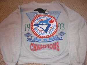 Toronto Blue Jays MLB 1993 Back to Back Shirt Sarnia Sarnia Area image 2