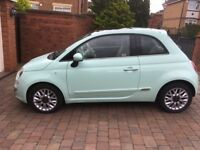 Fiat 500 Lounge 1.2 As new condition Smooth Mint