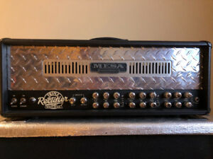 Mesa Boogie Triple Rectifier with Marshall JCM 900 cabinet