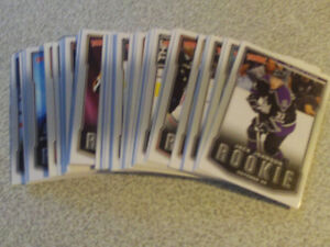 LOT DE 47 CARTES RECRUES DE UPPER DECK VICTORY 2007-08