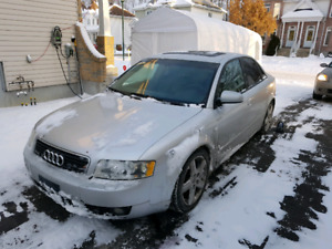 2002 to 2005 AudiA4 1.8t parts