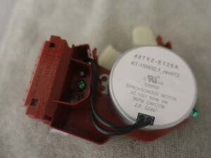 Actuateur (synchronous motor) provenant d'une laveuse Maytag