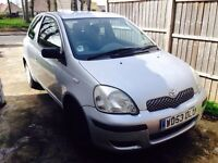 Toyota Yaris 2004 1.0 VVT-i Grey 3doors