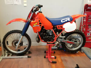 1984 CR250R  Great condition with period correct upgrades.