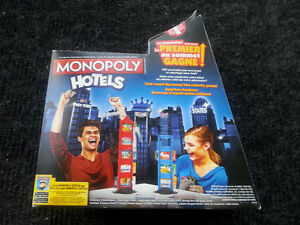 Monopoly Hotels  - Not a standard Monopoly Game!!