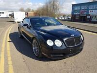 "BENTLEY CONTINENTAL 6.0 GTC MULLINER CONVERTIBLE 2008 ""58"" REG 56,000 F.S.H."