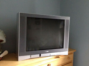 "FREE!!! Three older style televisions 27"" & 32"""