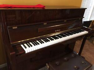 Beautiful Mahogany Kawaii Upright Piano