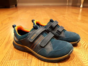 3 brand new kids shoes for boys -Ecco Biom/Sketchers/Dress shoes