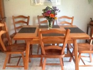 Vilas Kitchen Table With 7Chairs