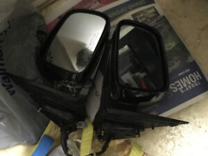 HONDA CRV BLACK POWER MIRRORS - COMPLETE WITH HARNESS