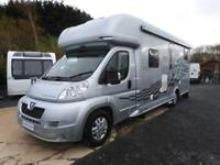 Peugeot BOXER 440 Custom Line Indalo S450 with garage and fixed rear bed