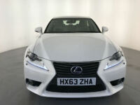 2013 63 LEXUS IS 300H LUXURY HYBRID AUTOMATIC SERVICE HISTORY FINANCE PX WELCOME